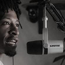 Shure MV7 USB Podcast Microphone