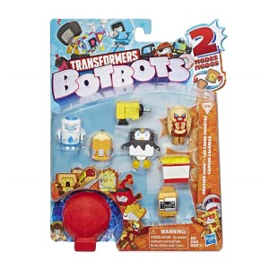 Greaser Gang Loose Transformers BotBots Series 1 Fottle Barts