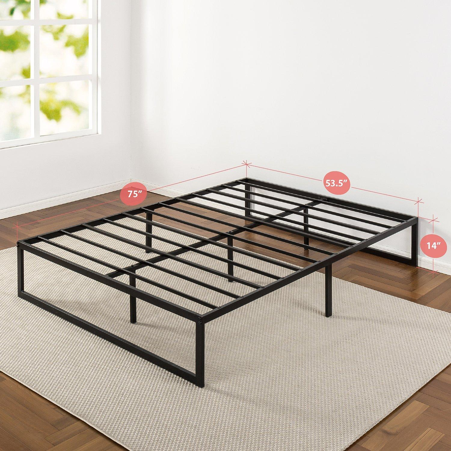 Amazon Com Zinus Abel 14 Inch Metal Platform Bed Frame