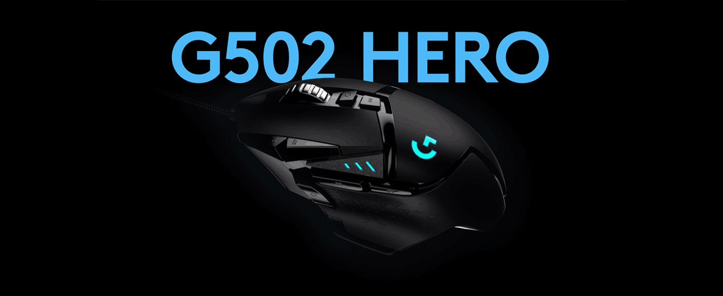 Logitech 910-005730 G502 HERO SE Perfomance Gaming Mouse (EWR2 Version) - Black