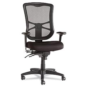 Alera Elusion Series Mesh High Back Multifunction Chair  BlackAmazon com  Alera Elusion Series Mesh High Back Multifunction  . Ergo Office Chair Amazon. Home Design Ideas