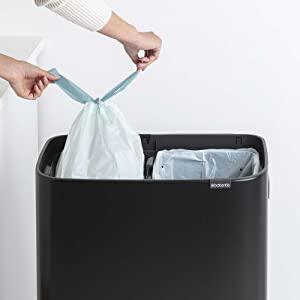 kitchen bins; brabantia bins; large bins; xl bins; waste bins; recycling; recycle bin