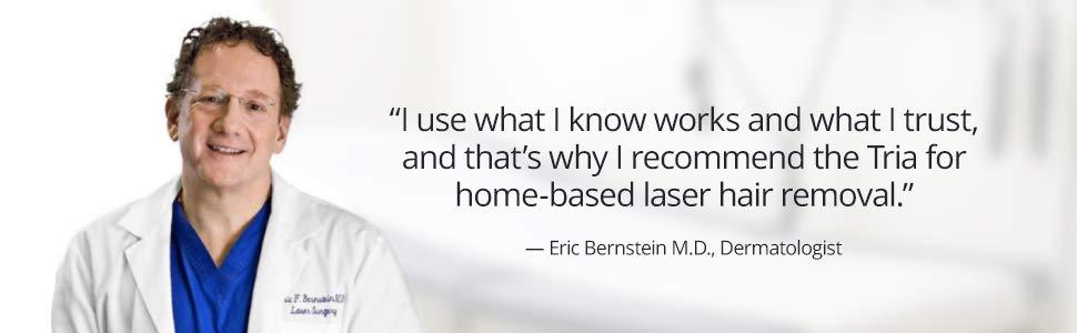 laser doctor tria recommendations