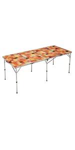 コールマン(Coleman) テーブル ナチュラルモザイクリビングテーブル 180プラス 2000026749
