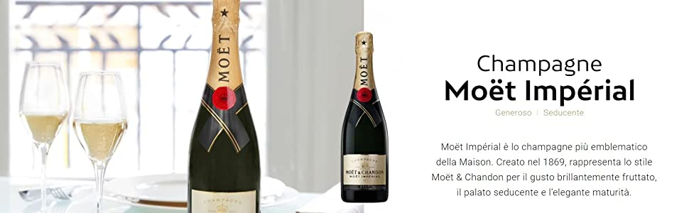 Champagne Brut Impérial, Moët & Chandon - 750 ml