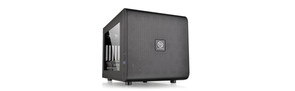 Thermaltake Core V21 - Micro chasis M-ATX, Color Negro: Thermaltak ...