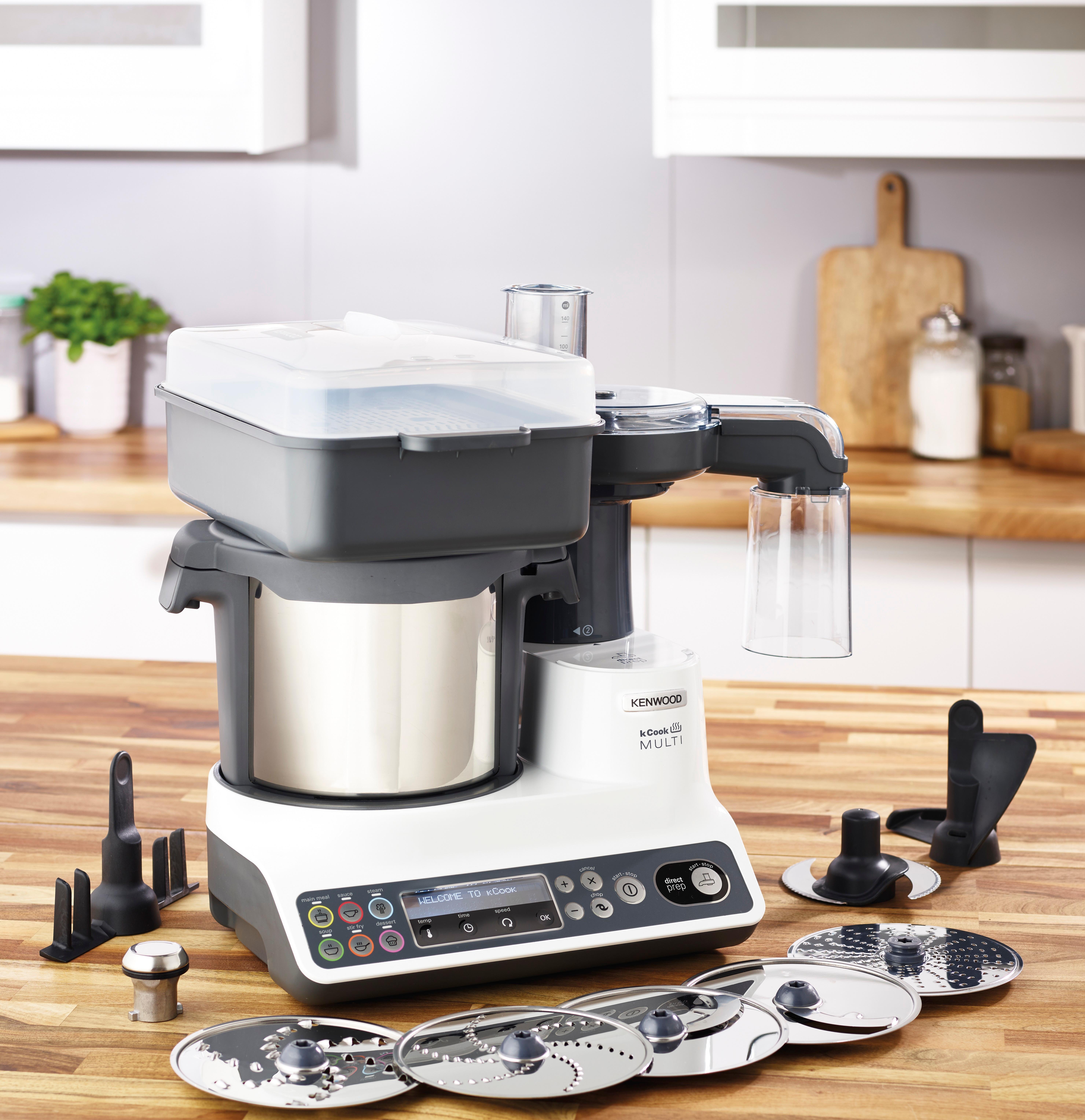 Kenwood Robot da cucina con funzione cottura CCL401WH Cook Multi ...