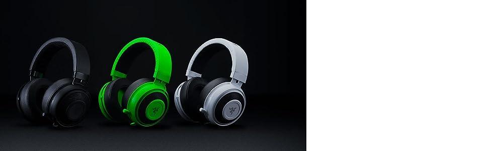 Razer Kraken Pro V2 - Auriculares para Juegos y música para PC, Mac, Xbox y PS4 (diafragmas de Audio de 50 mm, Estructura de Aluminio y Comodidad sin ...