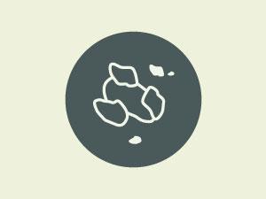 Rimuovere i solidi e le impurità dalla vaschetta con una spatola