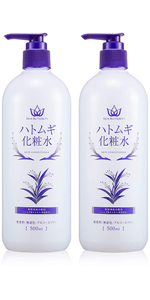 【Amazon.co.jp限定】SKIN AUTHORITY ハトムギ化粧水 500mlx2本