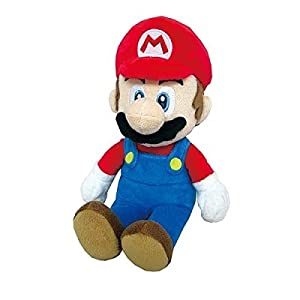 """Little Buddy Toys Super Mario All Star Collection Toad 7.5/"""" Plush USA Authentic"""