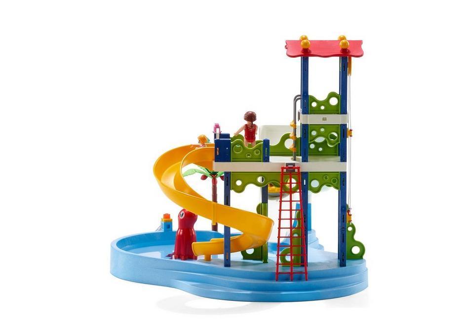 Playmobil parque acu tico con toboganes 66690 amazon - Piscina playmobil amazon ...