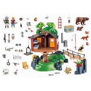 Playmobil adventure tree house safari casa rbol aventuras color miscelanea 5557 modelos - Casa del arbol de aventuras playmobil ...
