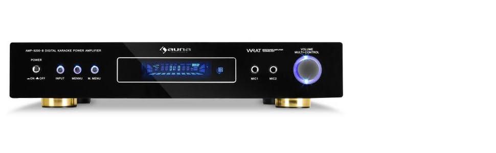 Auna AMP-9200 Amplificador estéreo 5.1