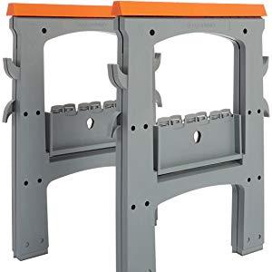 AmazonBasics - Caballete plegable - 408 kg - Pack de 2: Amazon.es ...