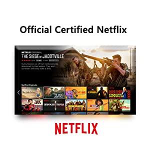 Official Certified Netflix