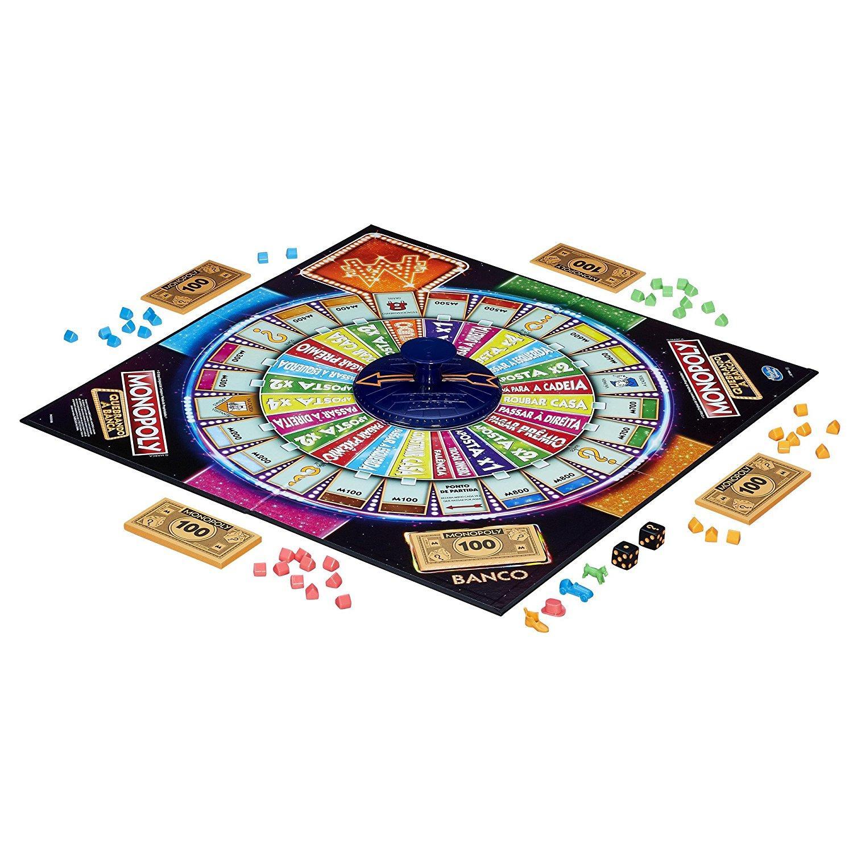 Hasbro Gaming Monopoly Casino Amazon Com Mx Juegos Y Juguetes