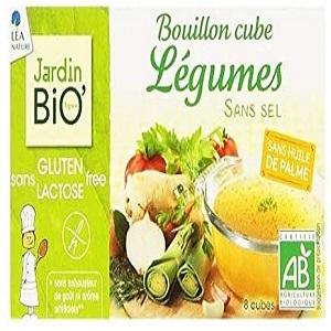 Jardin Bio Bouillon Cube Legumes Sans Sel Sans Gluten 72 G Amazon