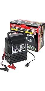 メルテック バッテリー 充電器 DC6V DC12V バッテリー診断機能付 長期保証3年