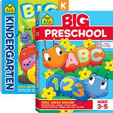 Big Preschool Workbook By School Zone Publishing Amazon Ae
