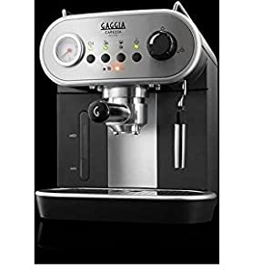 Gaggia Carezza - Cafetera (Independiente, Acero inoxidable, De ...