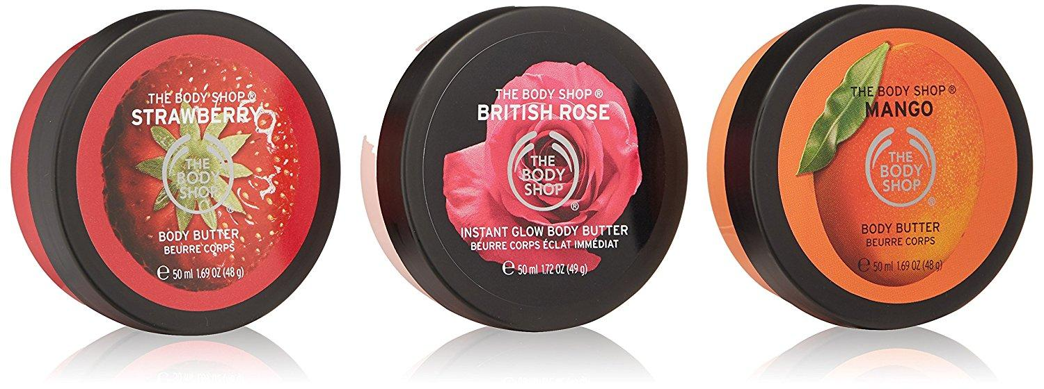 2c78bf79a9fe7 Amazon.com: The Body Shop Fruity Body Butters Trio Spinner Gift Set ...