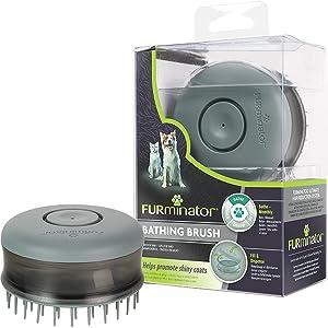 FURminator® Cepillo de baño para perros y gatos: Amazon.es ...