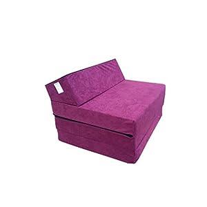 ... por lo que es ideal para habitaciones para niños, acampar y viajar, proporcionando asientos cómodos y para dormir. El colchón plegable se puede usar ...