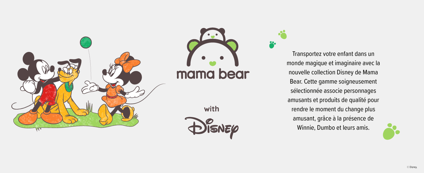 8-14 kg 4 couches ultra-s/èches Taille 4 Mama Bear Disney