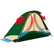 【Amazon.co.jp 限定】Coleman(コールマン) テント タフワイドドームIV 300 オリーブ 2000036822