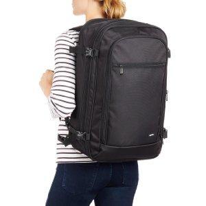 AmazonBasics 46 Ltrs Carry-On Travel Backpack, Black ...
