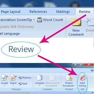 Sign and Annotation at Microsoft Office