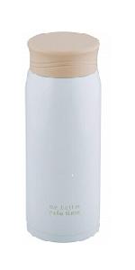 和平フレイズ 水筒 マグボトル 600ml スリム 保温・保冷 真空断熱 ホワイト かちこれ KR-8279