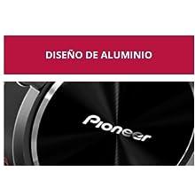 Pioneer SE-MS5T-K - Auriculares de tipo diadema (HiRes, power bass, micrófono, control de Smartphone), color negro