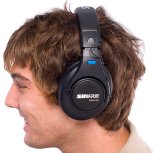 71452ca8baa Comfortable and Durable. The Shure SRH 440 Professional Studio Headphones  ...