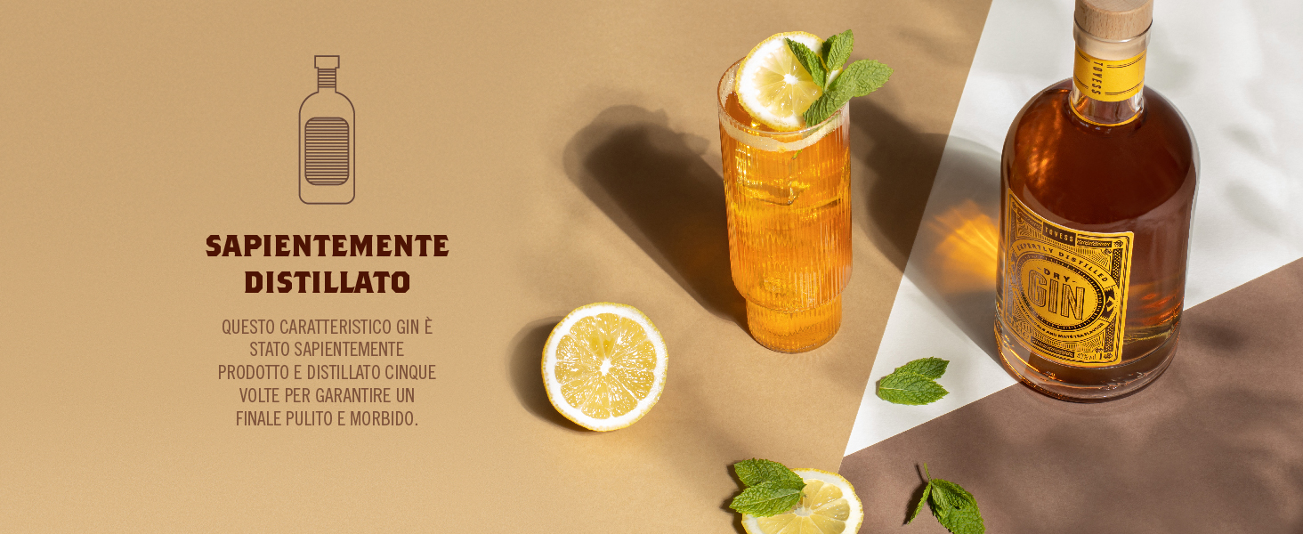 Sapientemente distillato: Questo caratteristico gin
