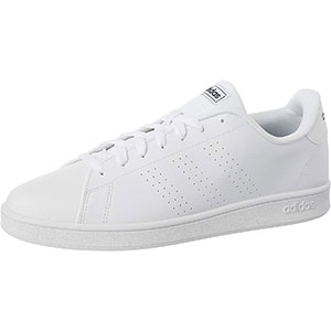 adidas ADVANTAGE BASE Mens SHOES ftwr white/ftwr white/TRACE BLUE F17 45 1/3 EU