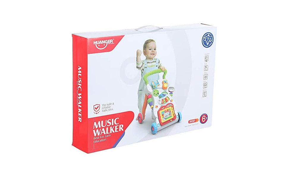 Huanger HE0801 Sounds and Lights Baby Walker Toy