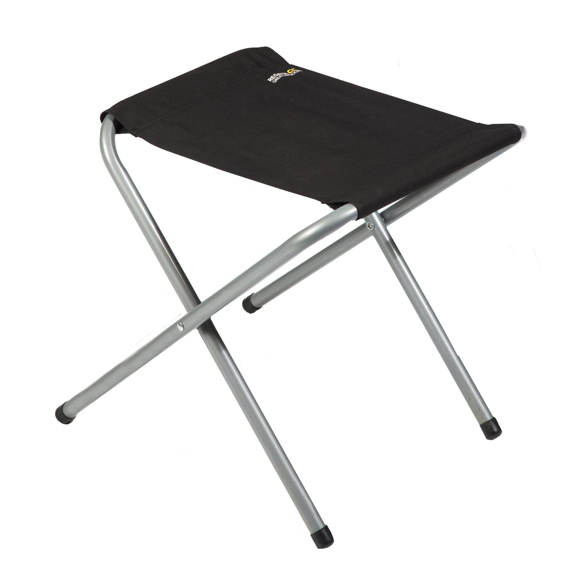 Regatta Marcos Stool Black Seal Grey Amazon Sports