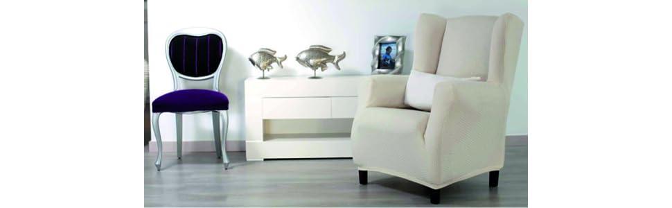Sucre relax col. 00-crudo funda de sofá: Amazon.es: Hogar