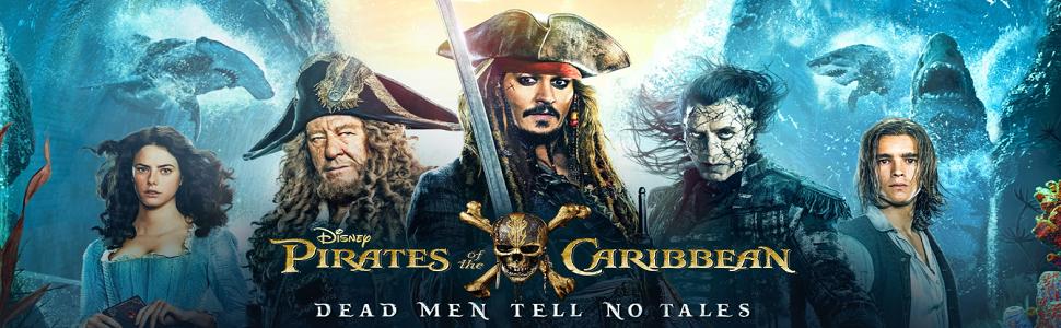 Pirates of the Caribbean 1-5 Blu-ray 2017 Region Free