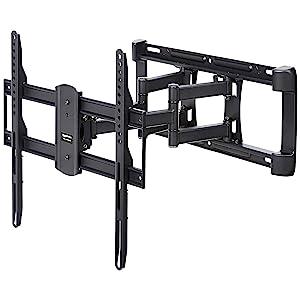 AmazonBasics Dual-Arm Full-Motion TV Mount
