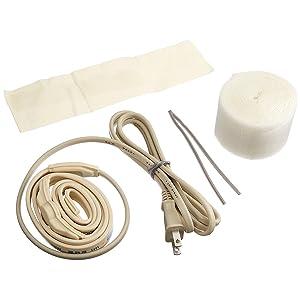 水道凍結防止帯 給湯・給水管兼用