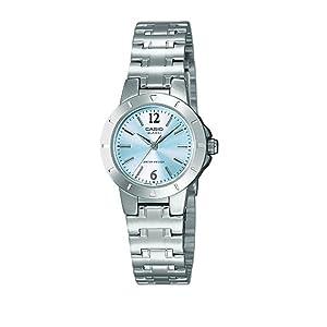 d6109aa5de3f Casio Reloj Analógico para Mujer de Cuarzo con Correa en Acero ...