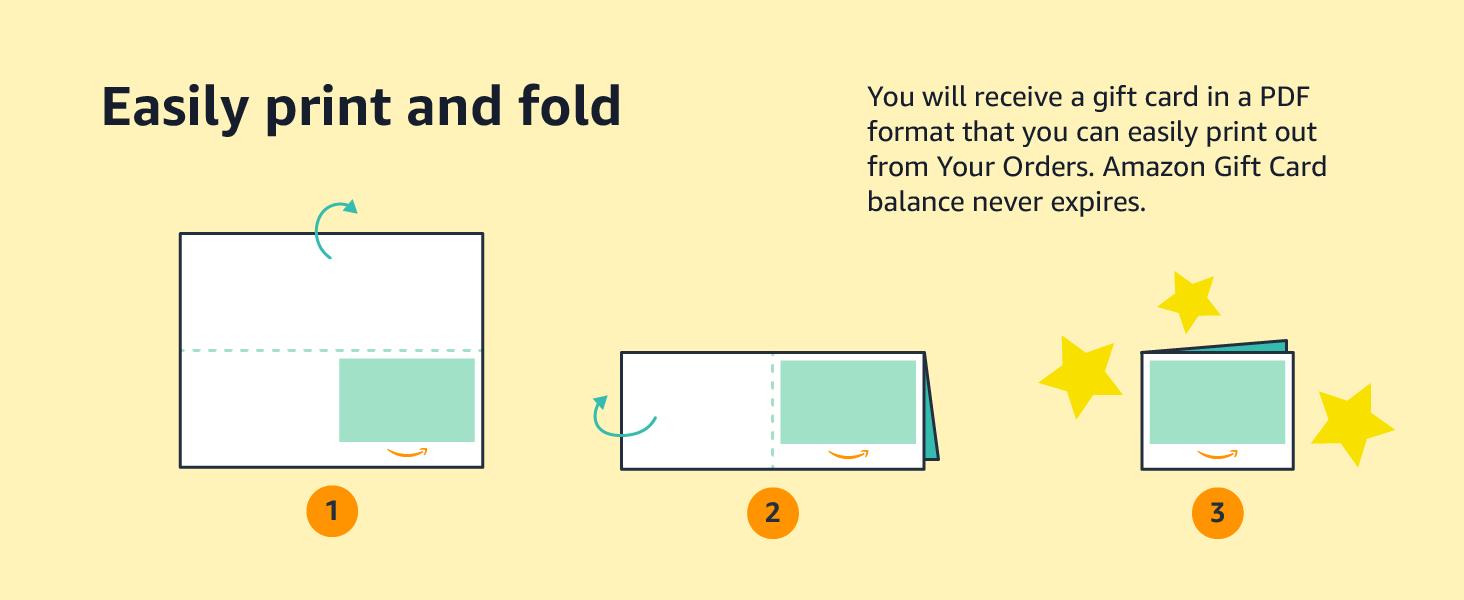 Easily print and fold