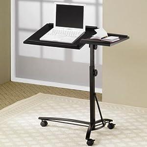 Amazon.com: Coaster Transitional Black Laptop Stand: Kitchen & Dining