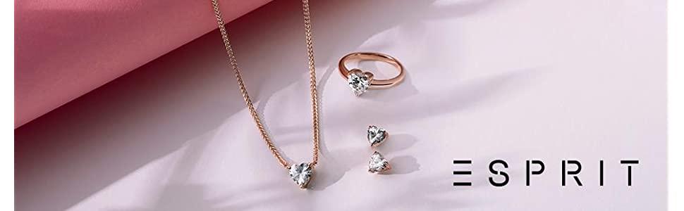 ESPRIT Glamour Women's Ring-It ROSE MEDEA