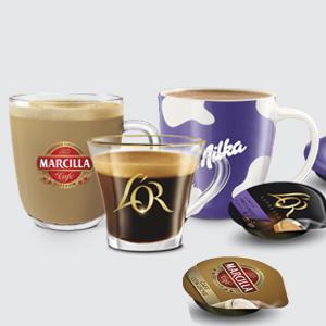Bosch TAS6002X Tassimo My Way Cafetera automática, color negro, incluye dos paquetes de cápsulas de café LOr, 1500 W, 1.3 litros, Plástico