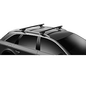 Thule 711220 Wingbar Evo 118 Black Schwarz Set Of 2 Auto