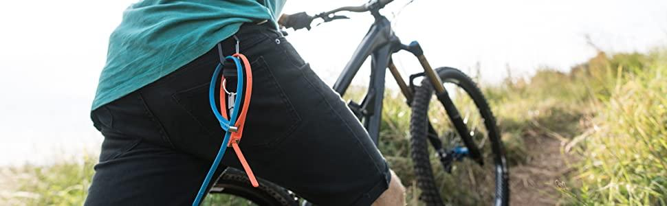 bike lock, lightweight bike lock, mountain bike, road bike, cycle security, cable tie, zip tie